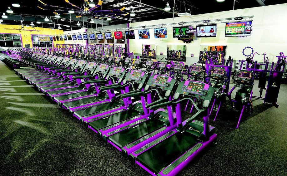 Photo courtesy of Planet Fitness.