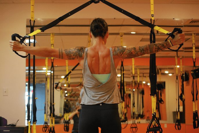TRX at Pure Body Fitness.