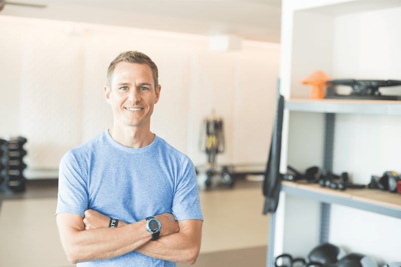 Brent Gallagher, owner of Avenu Fitness & Lifestyle