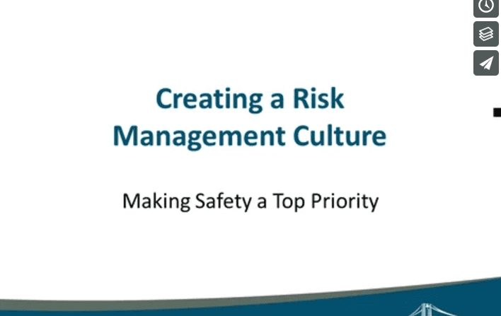 risk management culture