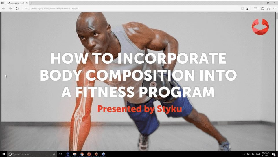How to Incorporate Body Composition into Your Fitness Program Webinar