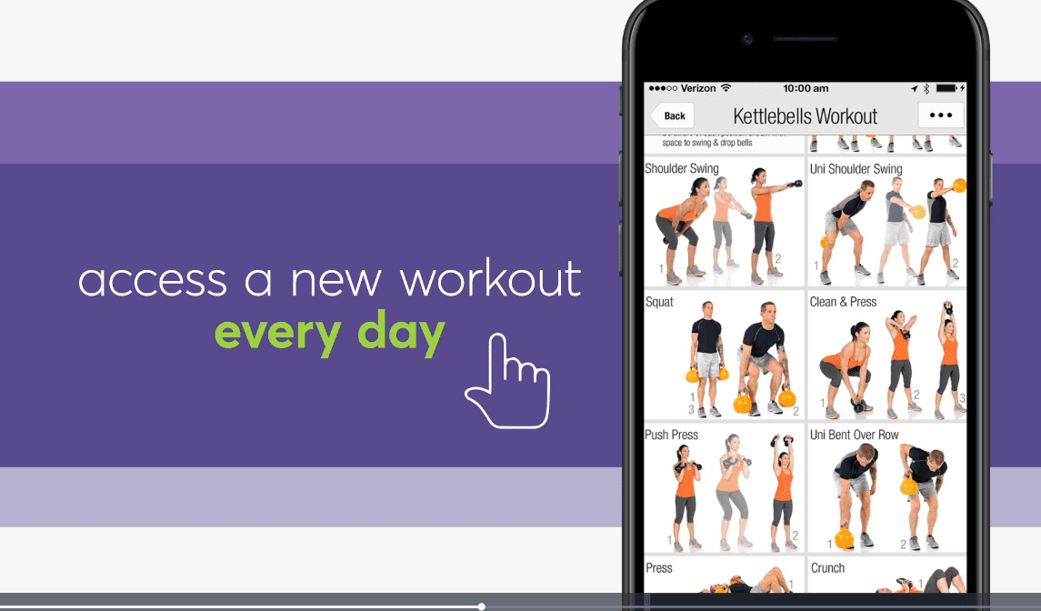 The Anytime Fitness App