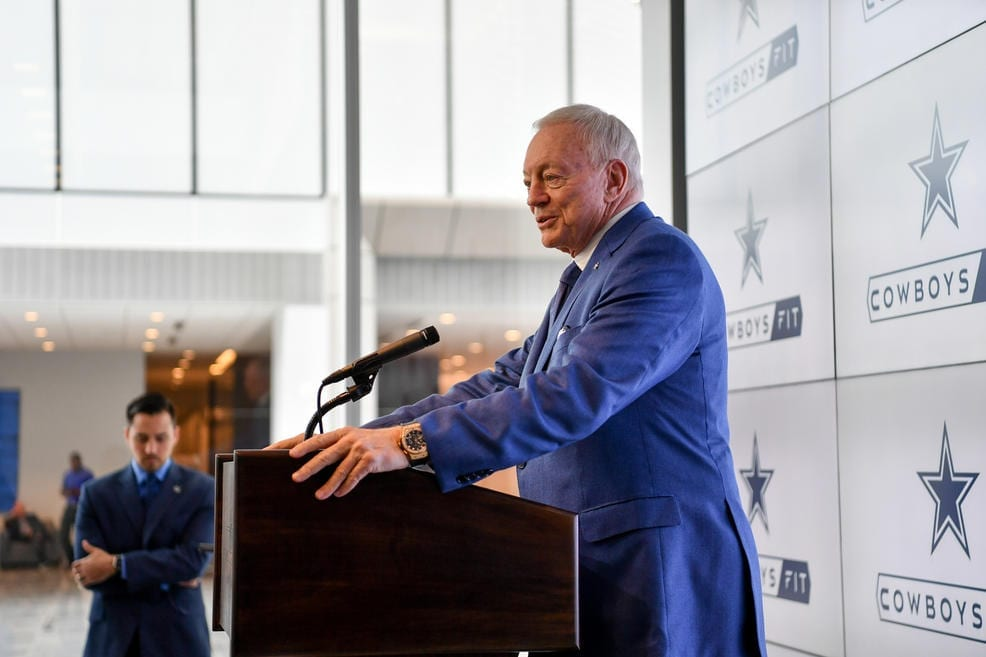 Jerry Jones, owner of the Dallas Cowboys.