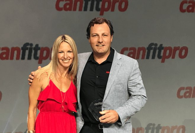 Krista Popowych, Keiser Global Director of Education, and Mark Kocaba, Canadian Sales Manager