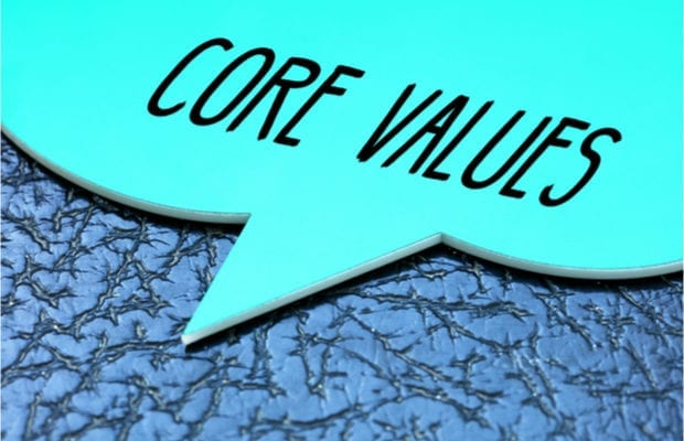 purpose and core values