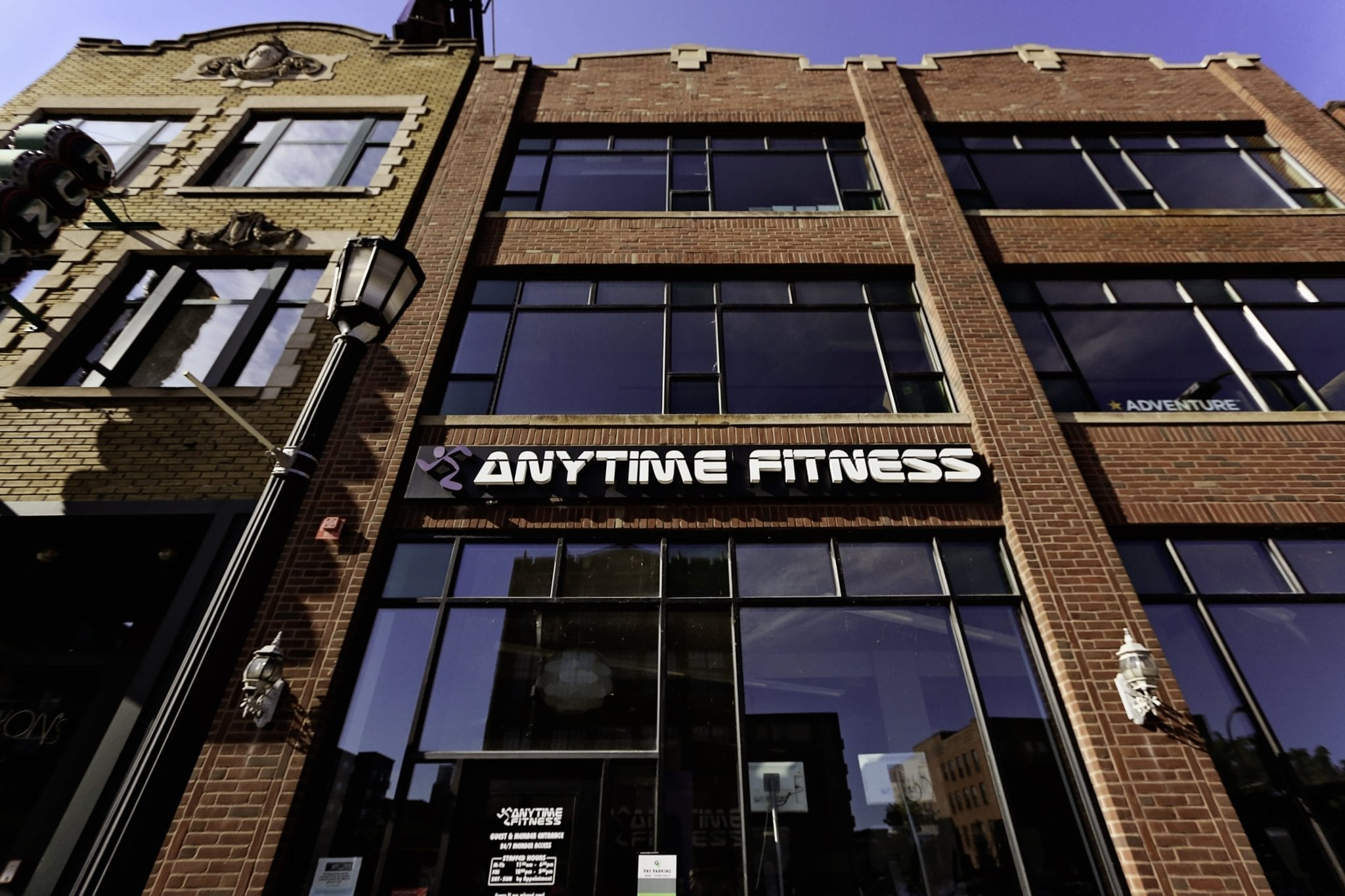 Image courtesy of Anytime Fitness.
