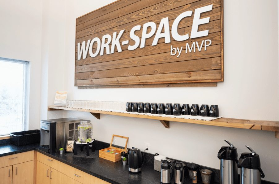 coworking space by MVP