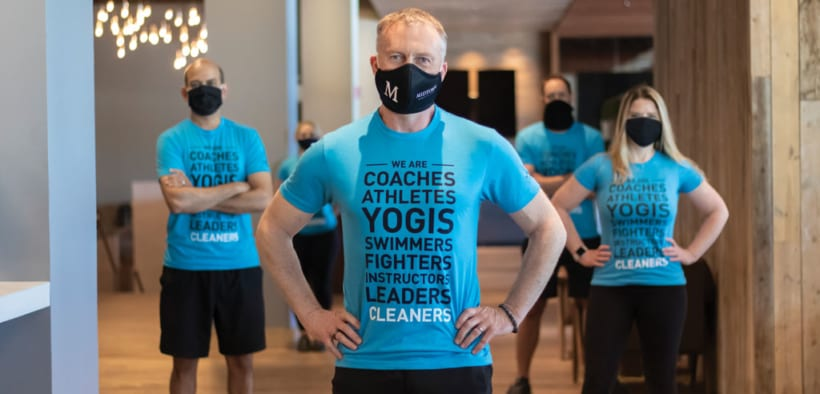 Rallying cry - gyms as essential