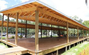 Outdoor Fitness Pavilion